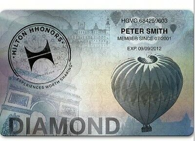 Hilton Diamond membership (90 days trial , can be extended to Mar 2019) Honors