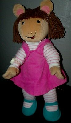 "1998 Actimates 22"" D.W. Interactive Plush TESTED WORKING Arthur's Sister"