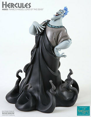 """Disney's Hercules~Hades~""""name's Hades, Lord Of The Dead""""~Statue~Le 1000~Wdcc~Mib"""