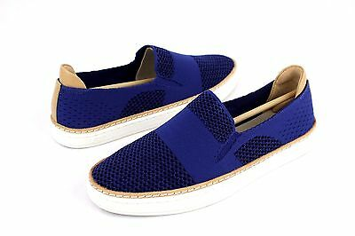 5dcbdd40705 UGG SAMMY KNIT And Leather Marino Blue Fashion Sneaker Tennis Shoe Size 6 Us