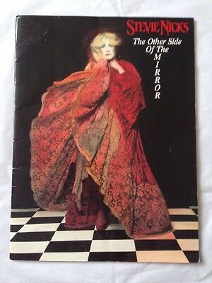 Stevie Nicks 1989 Other Side Of The Mirror Tour Concert Program Book