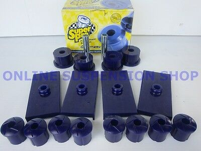 Suits Ford Falcon AU BA BF FG Ute SUPER PRO Rear Suspension Bush Kit SUPERPRO