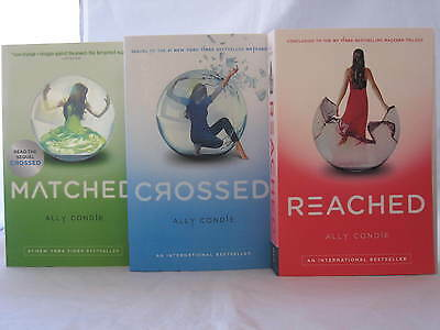 Matched Series #1-3: Books by Ally Condie (Complete Trilogy Set) Paperback