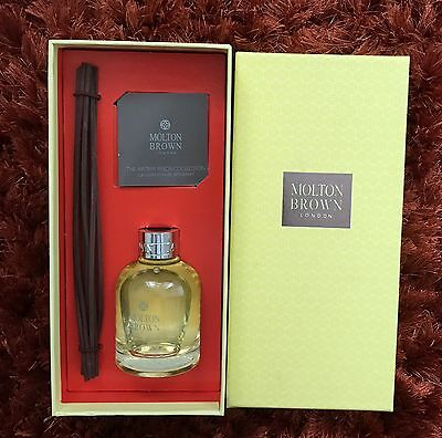 New Molton Brown Orange & Bergamot & Diffuser with 8 Reeds Rrp £39.99