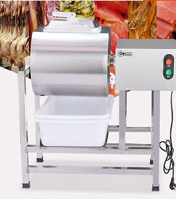 Stainless Steel Meat Salting Machine/Meat Poultry Tumbler Machine 25L