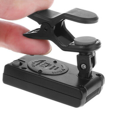 LCD Clip-on Electronic Tuner Universal For Guitar Chromatic Bass Violin Ukulele