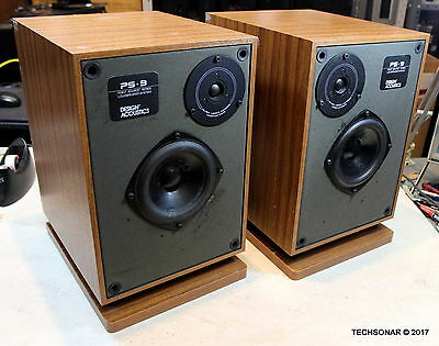 Design Acoustics PS-9 Point Source Loudspeakers 3-Way Made in USA Bottom Firing
