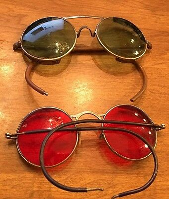 Antique Welding Eye Glasses Welsh and AO American Optical Vintage