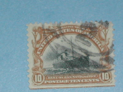 10 cent 1901 Pan-American Commemorative Stamp (SC 299) - Used