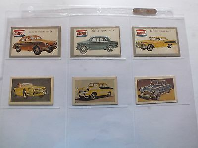 Ampol Trading Cards X 6