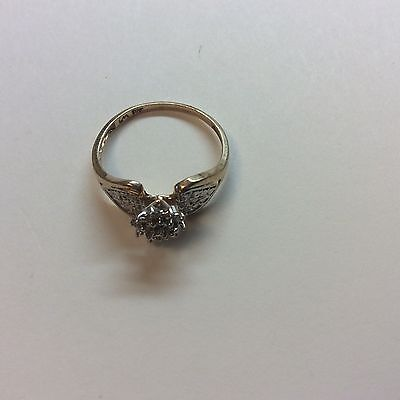 LOT / Scrap / Not - Ring With Diamond -10 K Gold - 1.7 Grams