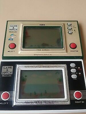 game and watch nintendo *)            Working Order