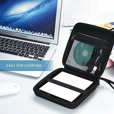 External Hard Disk Drive Carriy Case  Cover USB CD DVD Drive Pouch Bag UK STOCK