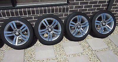 VE SS SV6 Commodore rims wheels tyres 245/45 R18 set of 4