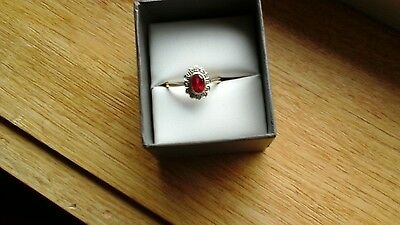 ring 9ct gold size S