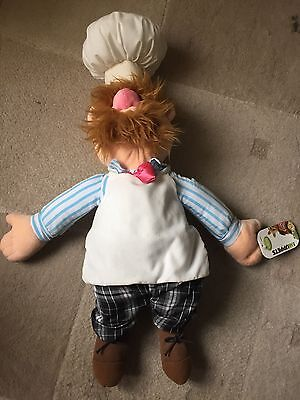 Disney Store The Muppets Swedish Cheif Soft Toy