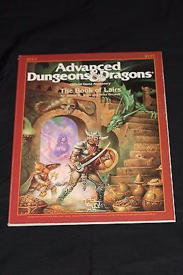 Tsr's Advanced Dungeon & Dragons Reference Module 9177 The Book Of Lairs N/m