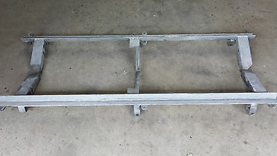 Boat trailer galvanised spring & guard carriers