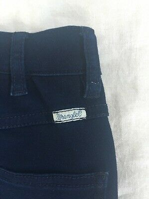 Wrangler Jeans Dark Navy Blue High Waist Stretch