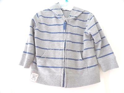 Pumpkin Patch Baby Boy Hoodie Jacket Top Size 12-18 Mths
