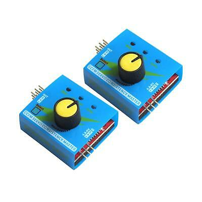 2pcs ESC Servo Tester 3 Channels 3CH CCPM Meter Checker 4.8-6V