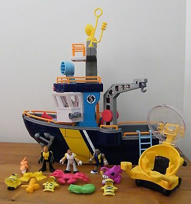 Fisher-Price: Imaginext - Patrol Boat & Accessories