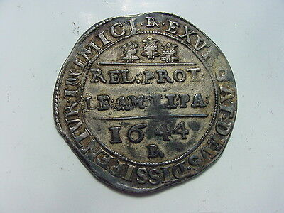 1644-Charles 1st uniface electrotype of a Bristol half crown by R.Ready c.1880s.