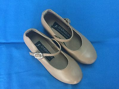 Energetiks Tan Tap Dance Shoes - Size 11½ (Child)