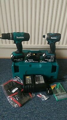 Makita 18v BTD146 Impact Driver and  BHP453 Hammer Drill Driver Twin Pack