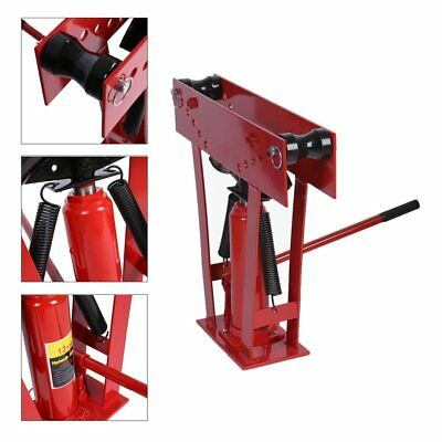 Heavy Duty 12 Ton Hydraulic Manual Pipe Bender 6 Dies Tubing Tube Bending Tool Y