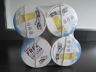 New bundle of 500 Coors light Beer Mats /Coasters -  Home Bar Pub man cave