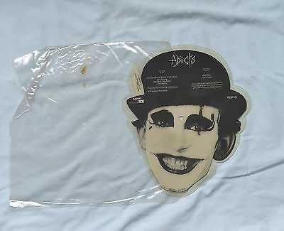 """The Addicts Shaped Joker in the Pack 7"""" Picture Disc Punk Rock"""