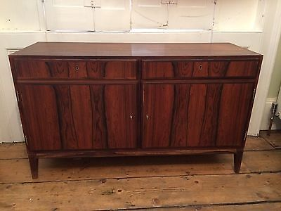 Midcentury Rosewood cabinet sideboard Danish Omann Junn 1950s open to offers
