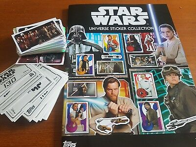 Topps Star Wars Universe Individual Stickers 10 for £1