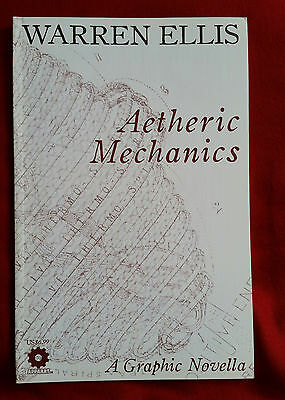 AETHERIC MECHANICS - warren ellis, gianluca pagliarani - Apparat GN - steampunk