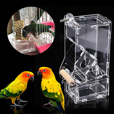 Seed No Mess Bird Feeder Parrot Toy Toys Canary Cockatiel Finch Tidy Corral GW