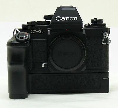 Canon F1-n film camera body + AE Power Winder FN MINT-