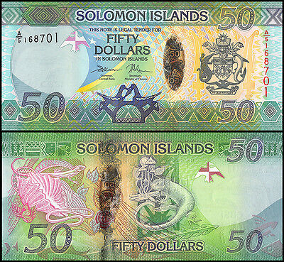Solomon Islands 50 Dollars, 2013, P-35, UNC