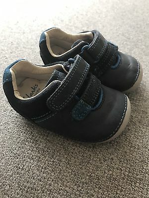 Clarks First Shoes Boys Size 2 1/2 G
