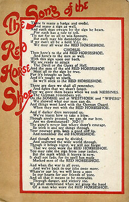 1910s postcard The Song of the Red Horse Shoe