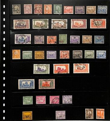 [OP108] Tunisia lot of stamps on 6 pages - see photos in description