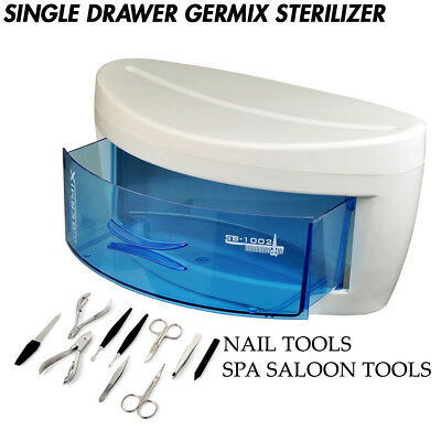 UV Tool Sterilizer Disinfection Sanitizer Cabinet Drawer Clean Beauty Salon Spa