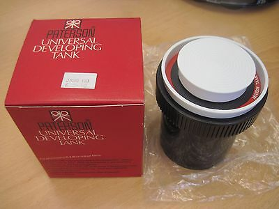 Paterson System 4 Universal Developing Tank Boxed Complete Universal Developing