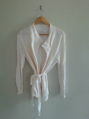 Target Maternity Style Cardigan/jacket Tie Up Design M