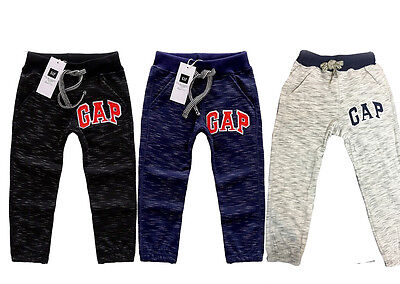 Kids Boys Cotton Casual Sport Track Pants BabyGap 3 Colors size 3Y - 8Y