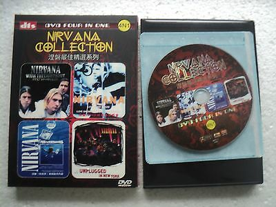 Nirvana - 4 in 1 Collection  - Rare  Hong Kong only release DVD