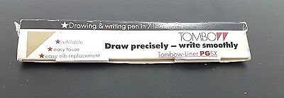 Vintage Tombow Liner PGSX Pen in Original Box with Instructions