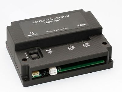 CBE BATTERY DUO-SYSTEM BDS-180 Smart Battery Selector #34050050