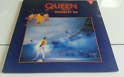 QUEEN-Live at wembley'86(2LP)1992 SPANISH GATEFOLD EX/NM