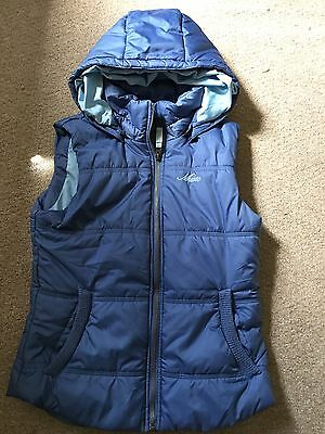 IMMACULATE Musto Hooded Gilet SIZE 8